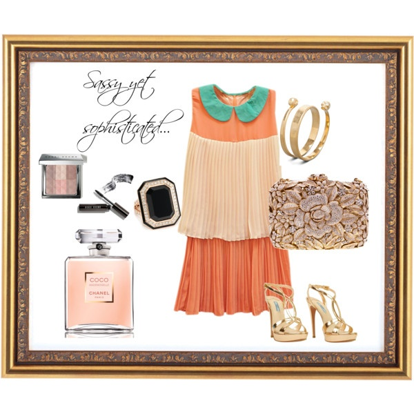 Sassy yet sophisticated, created by knobuwrapz on PolyvoreKnobuwrapz, Sassy, Polyvore, Create, Sophisticated