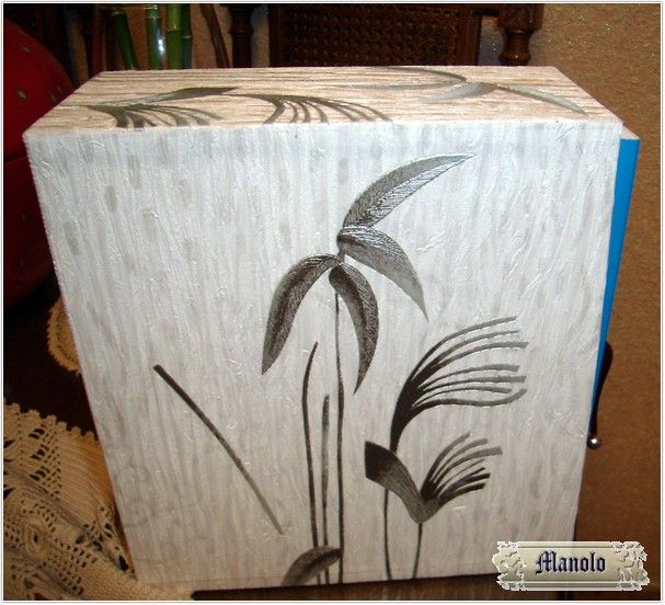 Caja decorada Bookbinding http://petry.es/category/manolo/encuadernacion/
