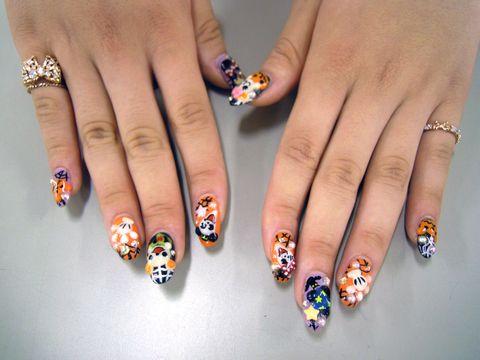 nail: Nails Art, Awesome Nails, Halloween Nails