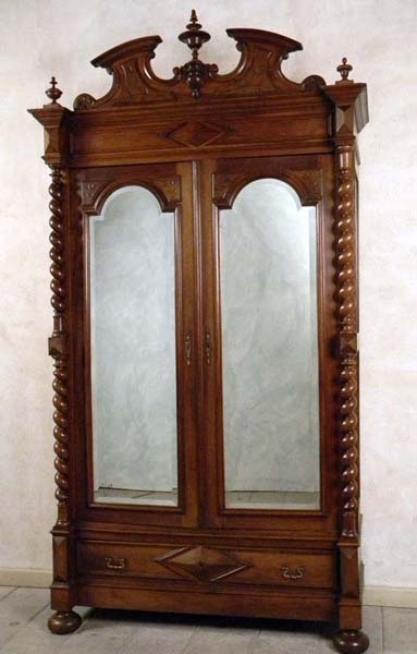 henry ii styled armoire 1920 elegant antiques pinterest interiors antiques and style. Black Bedroom Furniture Sets. Home Design Ideas