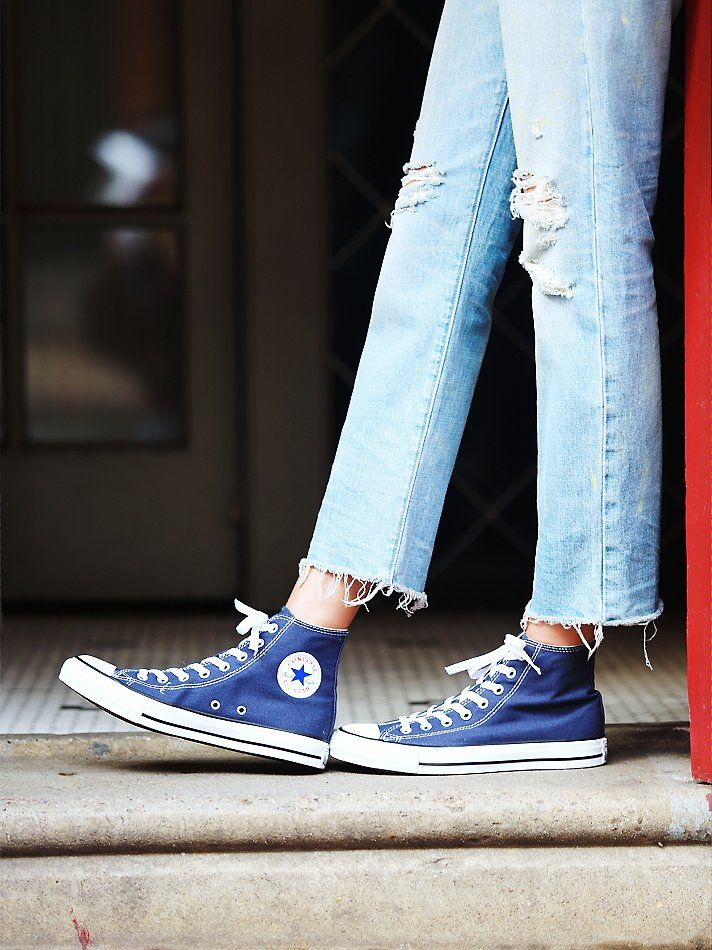 Free People Charlie Hi Top Converse