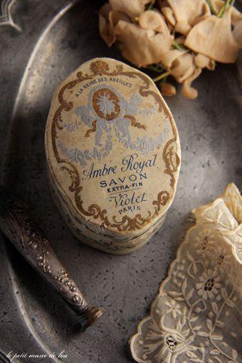 Violet Scented Soap