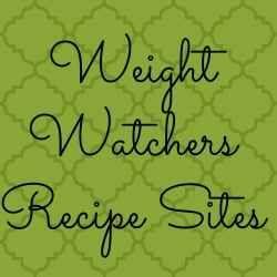 Websites for Weight Watcher Recipes