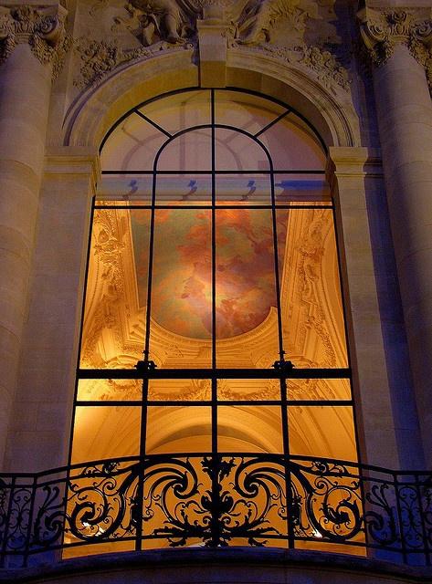 cool shot through window of Le Petit Palais, Paris (by .natasha. )