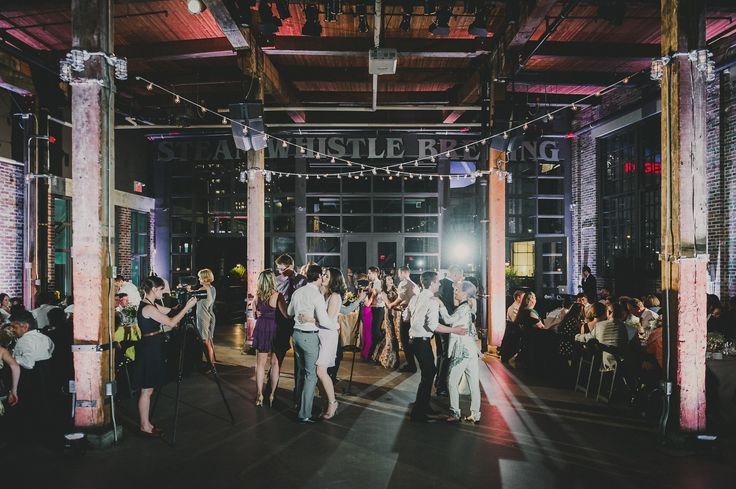 Toronto Wedding Venues - Steam Whistle Roundhouse