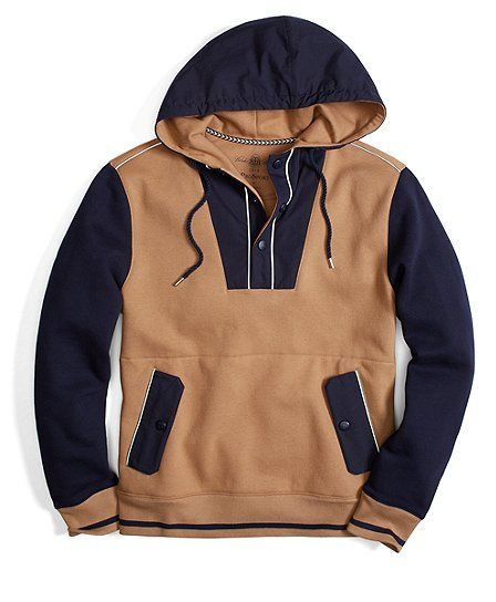 """I would be much more inclined to go hiking if it involved this """"Hiking Hoodie"""" from Brooks Brothers."""