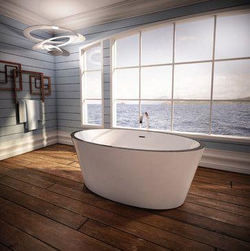 Charism Oval rustic-bathroom
