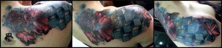 collage tattoo artkpone :: #tattoo #artkpone #tatuaje #bogota