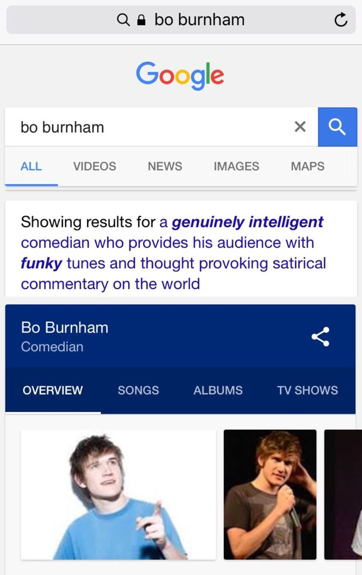 Bo burnham genuinely intelligent comedian
