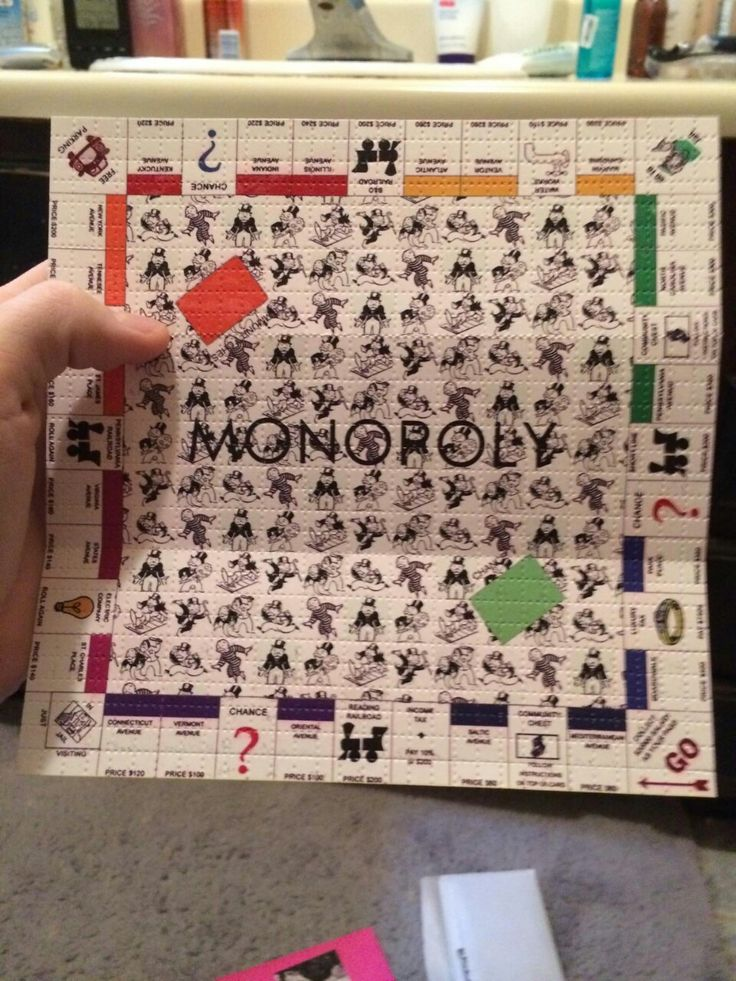 Monopoly/ acid tabs