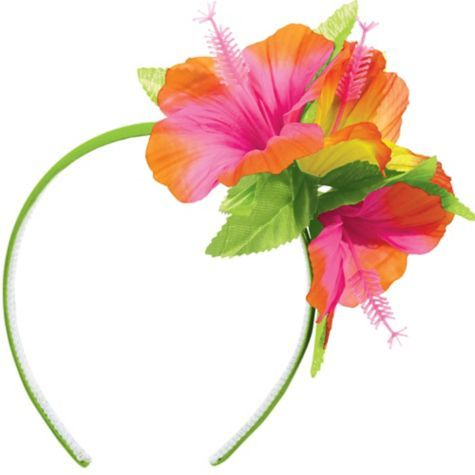 Dazzle DIY- Luau Hibiscus Headband - Party City