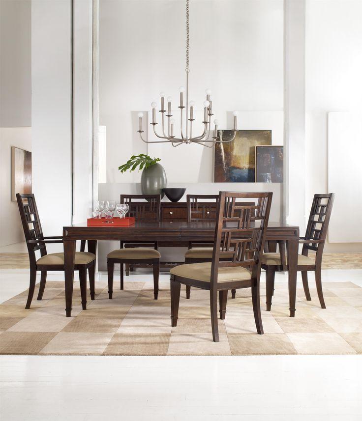 Hooker Furniture Ludlow 7 Piece Rectangular Dining Table