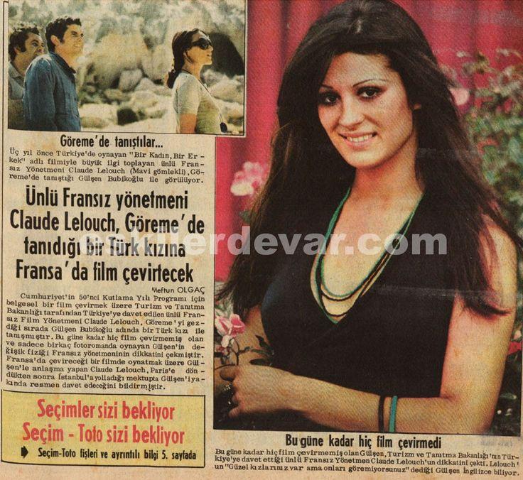 Gülşen Bubikoğlu Fransız Yönetmen tarafından keşfedildi