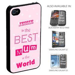 Best Mum Personalised Phone Cover
