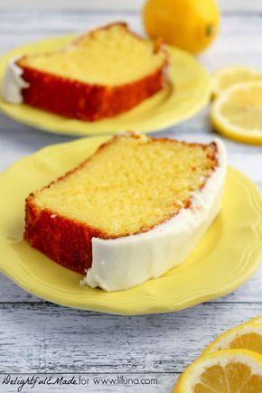 Wenn Sie Starbucks Lemon Loaf mögen, werden Sie diesen köstlichen und feuchten Kuchen lieben …   – Starbucks lemon loaf