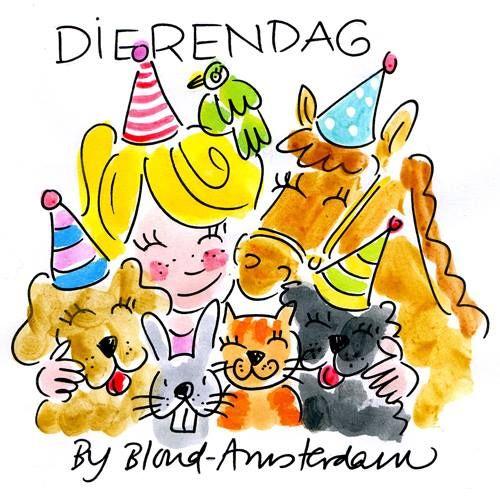 Blond Amsterdam dierendag