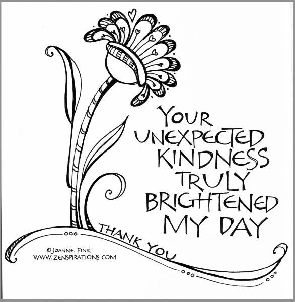 Zenspirations By Joanne Fink Your Kindness Blog
