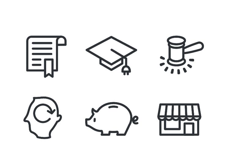 Icon Set [GIF] by Dave Coleman