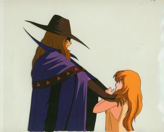 Doris lang d from vampire hunter d 1985