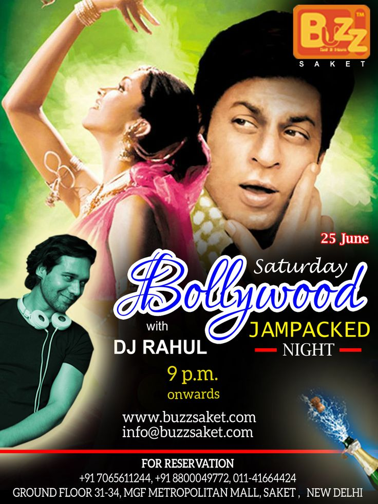 Celebrate your weekend with a bang and dance all night with total craziness at BUZZ Saket, its Saturday Bollywood Jampacked nights with DJ RAHUL, 9pm ONWARDS.  Couples & Ladies Entry free Till 11 pm  #Saturday #Saturdaynight #nightlife #Weekend #Party #weekendparty #Partyalltime #Drink #Fun #Friends #Dance #Booze #Enjoy #Food #Delhi #Delhinight #Club #Bar #Beer #Buzzsaket