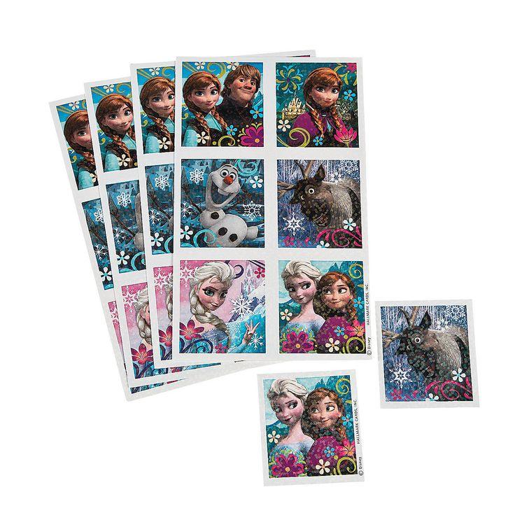 Disney's Frozen Sticker Sheets - OrientalTrading.com