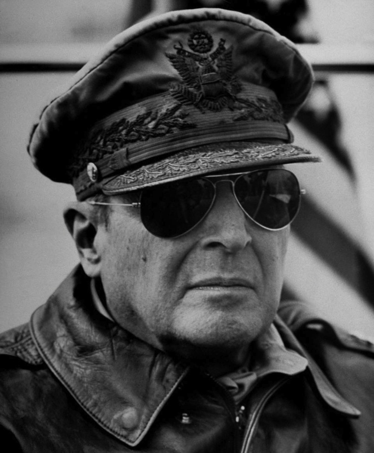 General Douglas MacArthur. General of the Army. Recalled from retirement priot to the start of the Pacific War. Medal of Honor winner. Presided over the Japanese surrender. Some officials believe the he is the most highly decorated US service person.