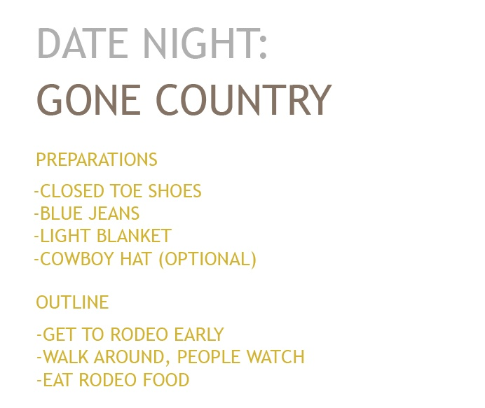 Date Night: Gone Country