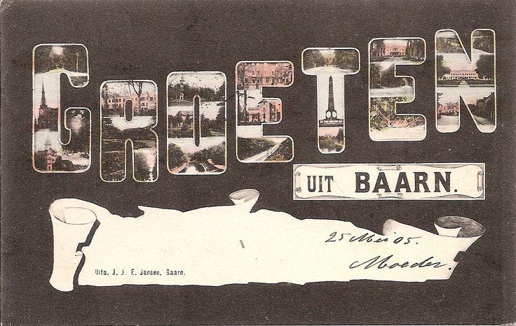Groeten uit Baarn