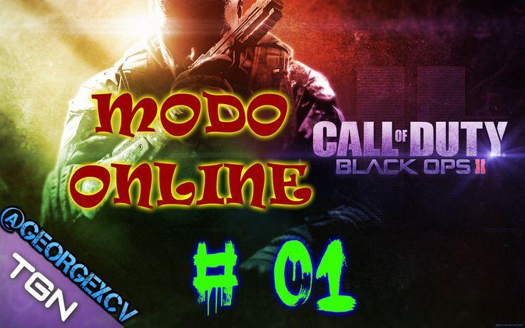 Black Ops 2 pc Mi primera partida 1080p 2.0 @georgexcv