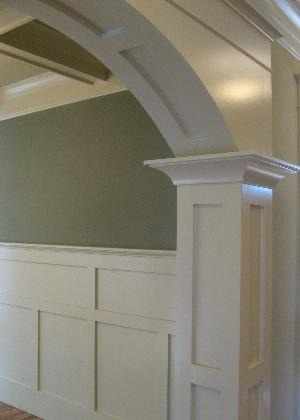 28 best interior trimwork images on pinterest for the for Decorative archway mouldings