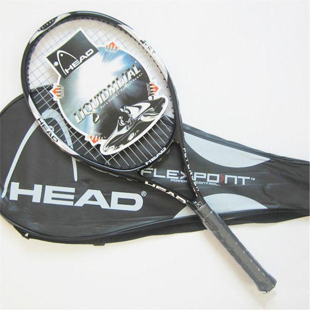Alta Qualidade De Fibra De Carbono Equipado com Saco De Tênis Raquete De Tênis Raquetes Tamanho do Aperto 4 1/4 raquetas de tenis Frete Grátis em Raquetes de tênis de Sports & Entretenimento no AliExpress.com | Alibaba Group