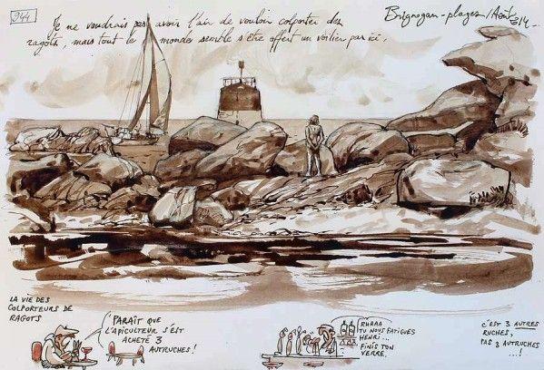 Une Bretagne par les Contours / Brignogan-plages  01/11/2014