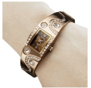 LightInTheBox Women's Bracelet Style Analog Quartz Metal Watch Fashion Fine Watches for Ladies (Bronze)