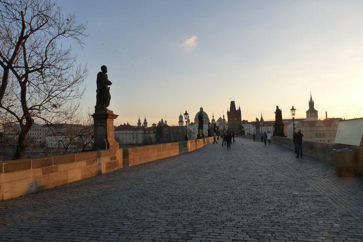 Ponte Carlos em Praga!