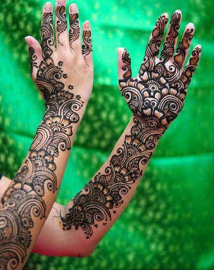 100 Best Latest Arabic Mehndi Designs