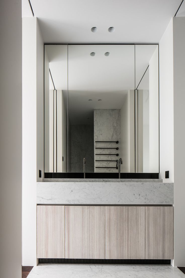 INSPIRATION: a polished bathroom in the Penthouse O by Leibal   est living