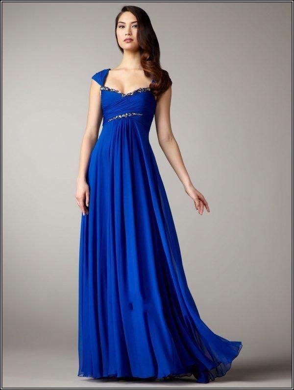 royal blue wedding dress davids bridal