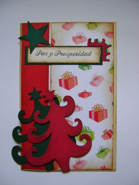 tarjetas de navidad hechas a mano en vintage y scrap diseos marta correa blog