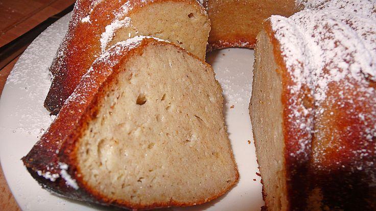 Bananen - Quark - Grieß - Kuchen