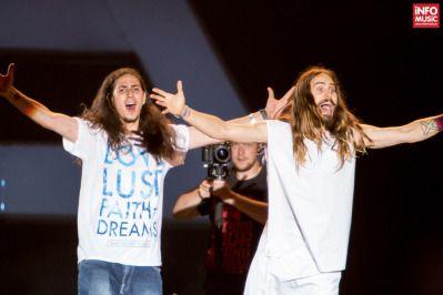 Jared Leto a susținut cu Thirty Seconds to Mars  primul concert în Romania