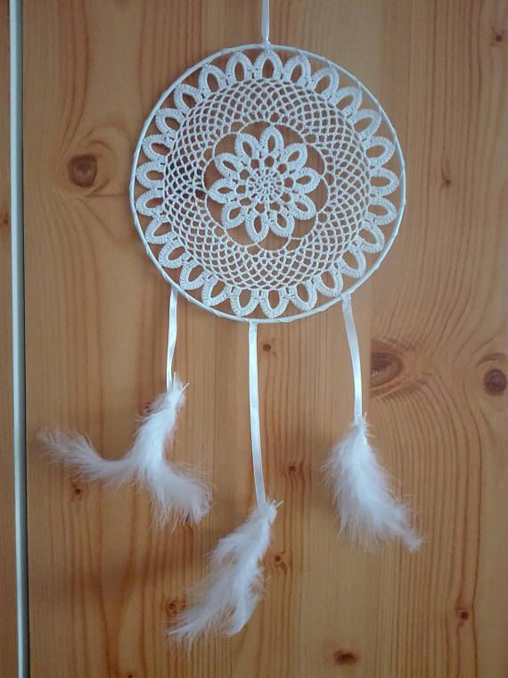 Hey, I found this really awesome Etsy listing at https://www.etsy.com/listing/527433709/white-dream-catcher