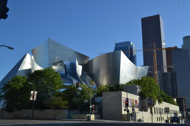 Walt Disney Music Hall.