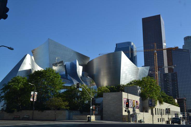 Walt Disney Music Hall.