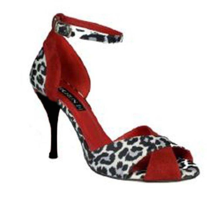 HORUS 643 SATIN LEOPARD<br>Chaussure de tango
