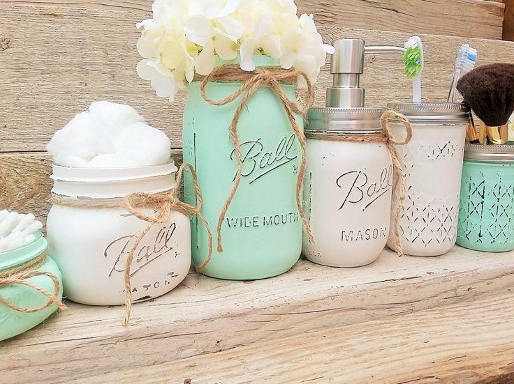 Best 25+ Bathroom jars ideas on Pinterest Spa bathroom decor - badezimmer m amp ouml bel set