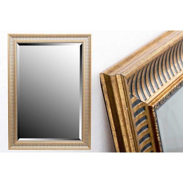 Cumpara online Oglinda MIRROR RESIN GOLD 60x90 CM EXT. 75,6x105,6 CM din categoria Oglinzi pe site-ul de mobila si decoratiuni Henderson.