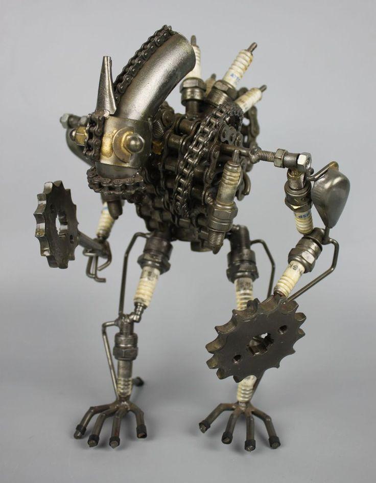 этом фото фотобанк металлический робот также
