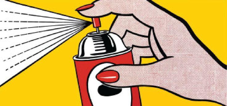 Roy lichtenstein spray padronagens pinterest - Roy lichtenstein pop art ...