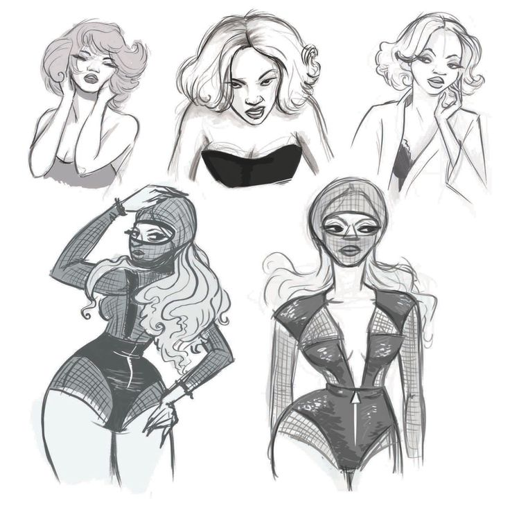 "Beyonce Fan art by Eliza Reisfeld. Check out how Beyonce went from a member of Destiny's Child to Music Royalty in ""Beyonce Unauthorized"""