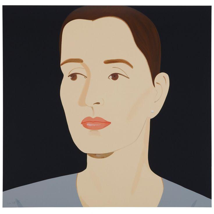 Three Portraits: Sara, Sophie and Vivien (Portfolio of 3) - Alex Katz - Weng Contemporary  https://www.wengcontemporary.com/shop/product/three-portraits-sara-sophie-and-vivien-portfolio-of-3 #alexkatz #portraits #sara #sophie #vivien #wengcontemporary #buyonline #print #silkscreen